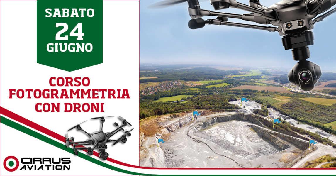 Corso di Fotogrammetria con droni - Professional aviation