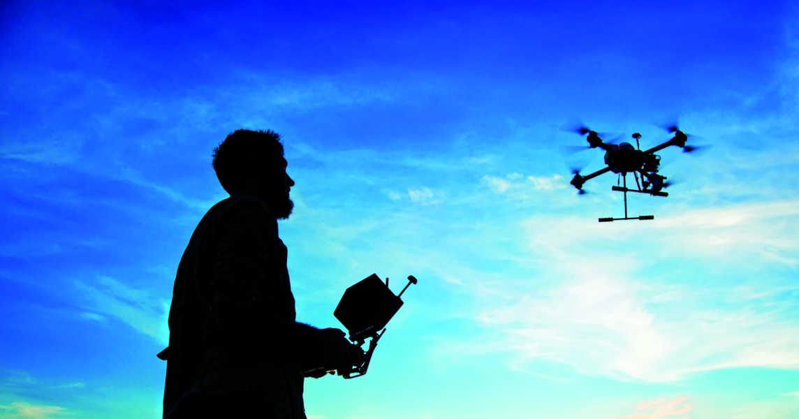 Come i droni stanno rivoluzionando la fotogrammetria aerea
