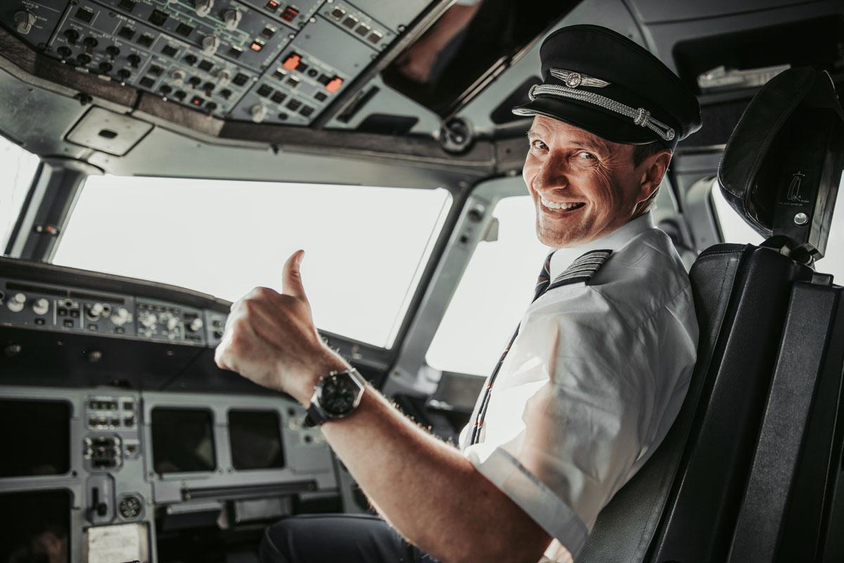 La paura di volare dal punto di vista di un pilota