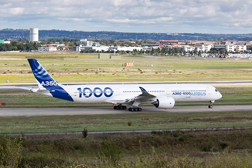 Professional Aviation - aereo Airbus A350-1000