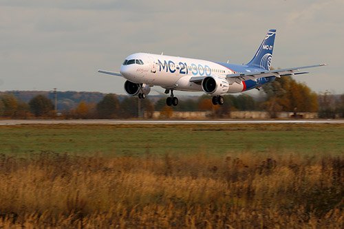 Professional Aviation - aereo Irkut MC-21