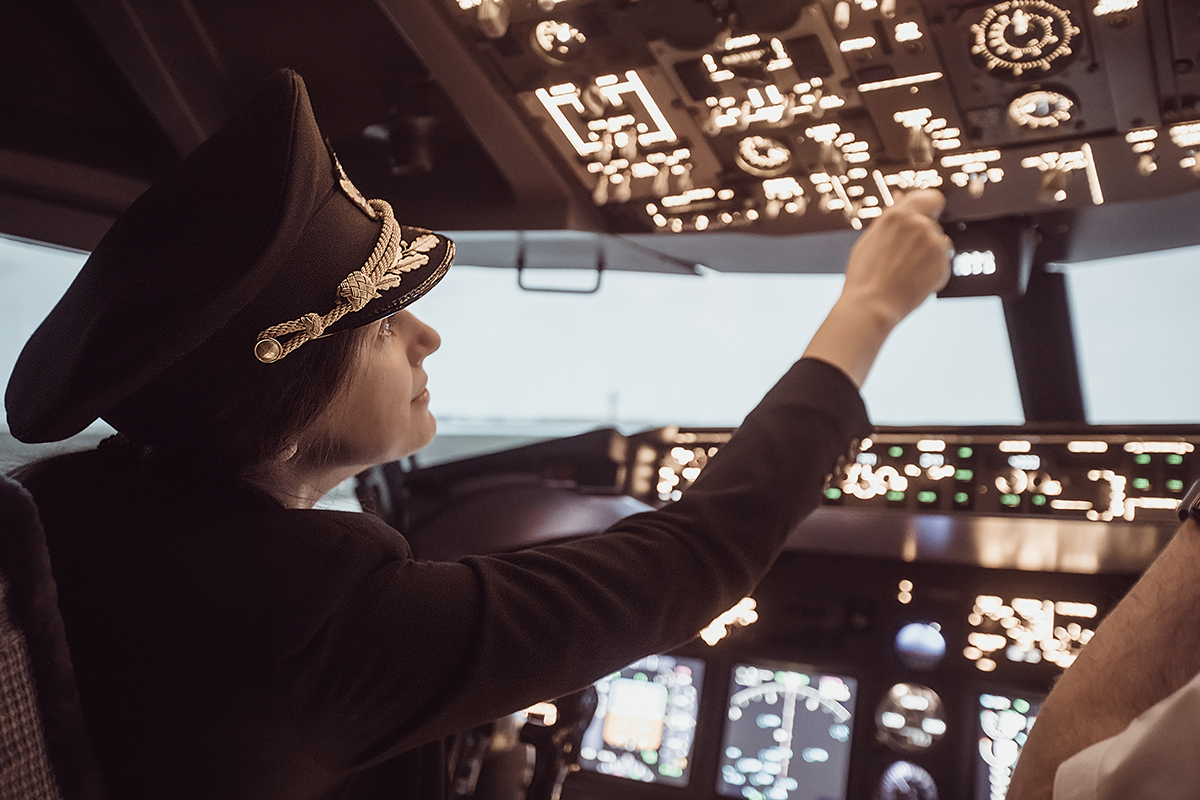 Professional Aviation_Gender Gap