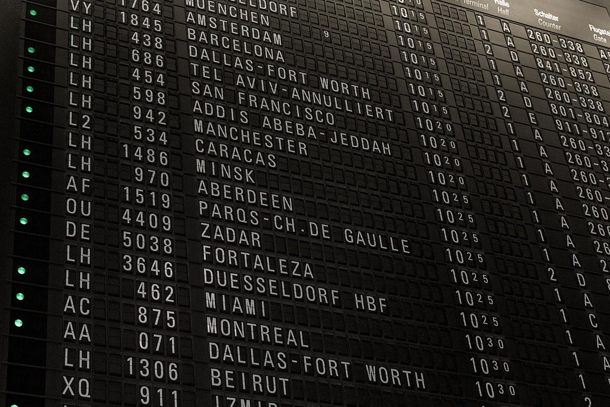 Professional Aviation_Quali rotte oggi portano il numero di volo 1