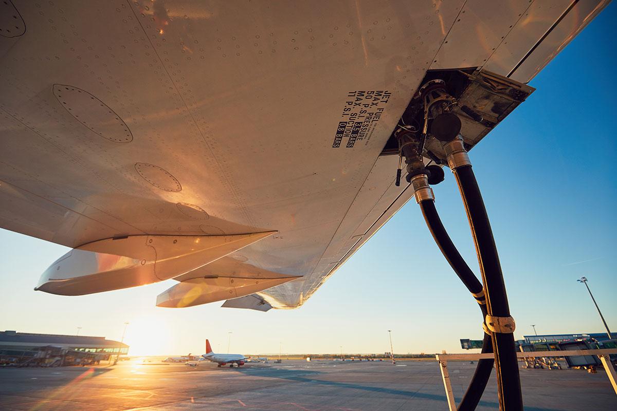 carburante per aerei e sostenibilità